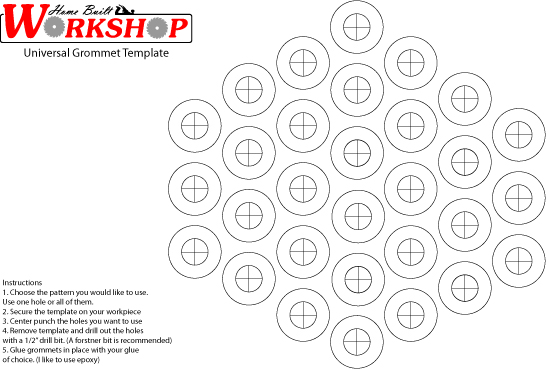 Printable grommet template home built workshop printable grommet template maxwellsz