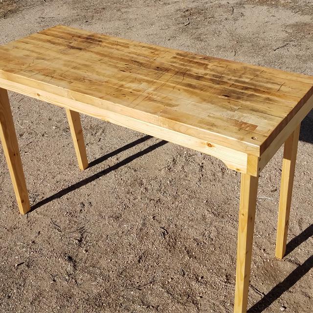 Sturdy Worktable, Home Built Workshop